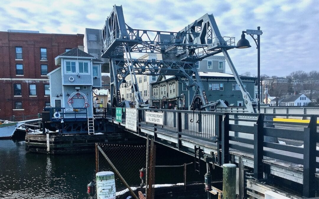 Writers, bridges, and rivers